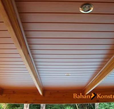 Harga Jasa Pasang Plafon PVC Per Meter | Bahan Konstruksi